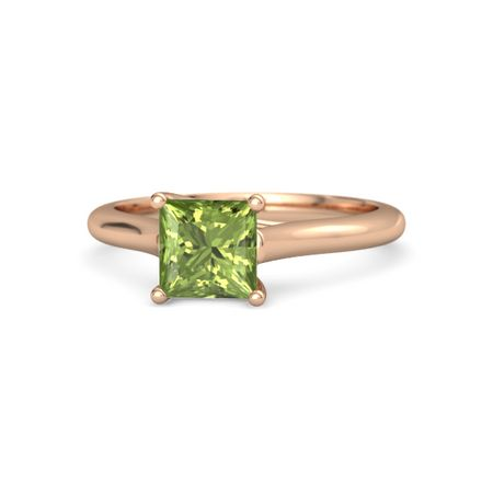 Ivy Princess-Cut Ring (6mm gem)