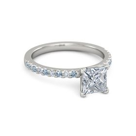 Princess-Cut Lara Ring (6mm gem)