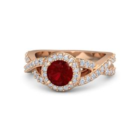 Round-Cut Milani Ring