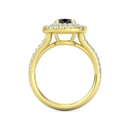 Round-cut Lillian Ring