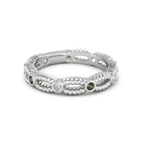 Interlace Eternity Band