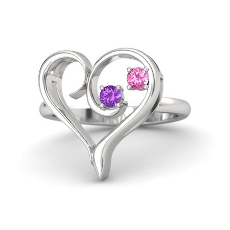Enclosed Heart Ring