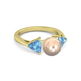 Pearl Trillion Ring