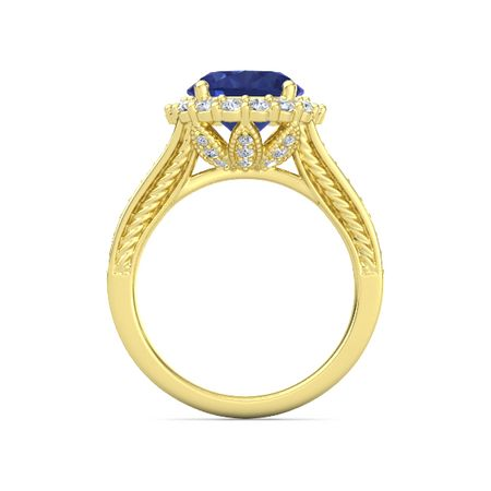 Moments Oval Split Shank Halo Ring