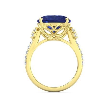 Moments Oval Bloom Ring