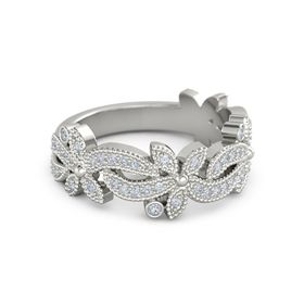 Enchanted Daisy Stackable Ring