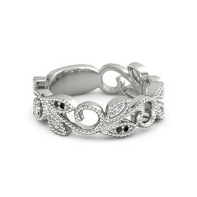 Floral Tiara Stackable Ring