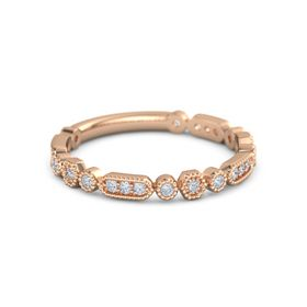Heavenly Clouds Stackable Ring