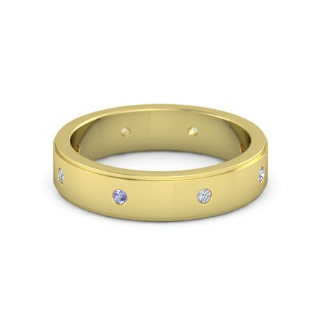 Gemstone Band (5mm wide)