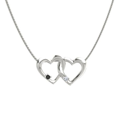 Linked Hearts Pendant