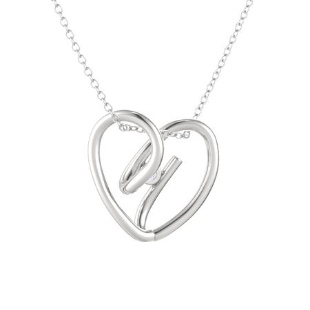 Entwined Heart Pendant