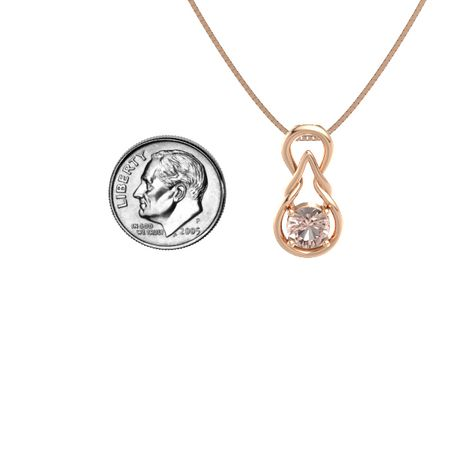 Eternal Knot Pendant (6.5mm)