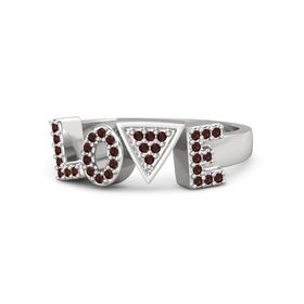 "Brilliant ""Love"" Ring"