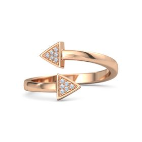 Dual Cupid's Arrow Ring