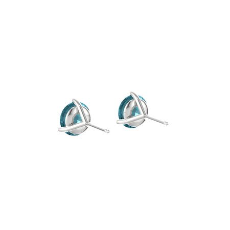 Martini Stud Earrings (7mm Gems)