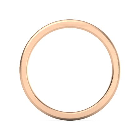 Satin Finish Comfort Fit Band (2.5mm Band)