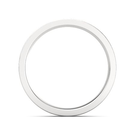 Brushed Finish Flat Comfort Fit Band (5mm Band)