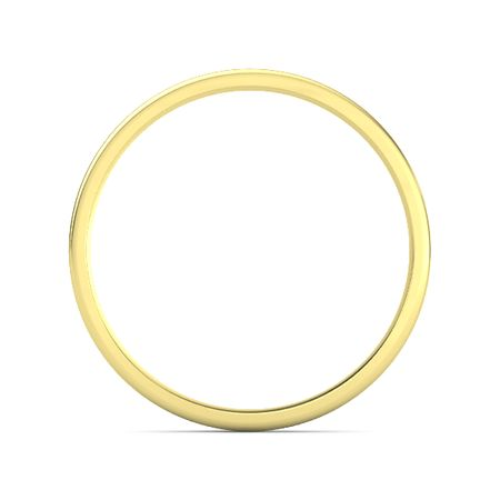 Thin Concave Stacking Ring (3mm Band)