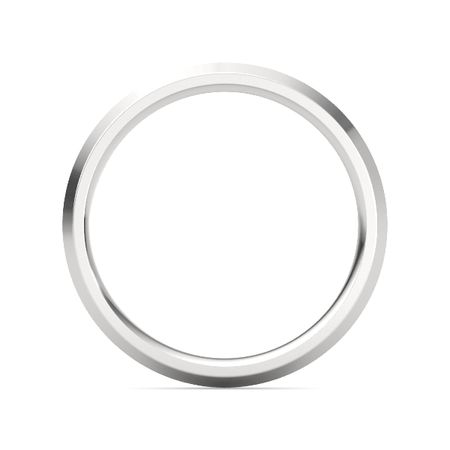 Sterling Silver Ring Knife Edge Band 3mm Band Gemvara