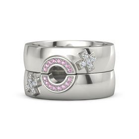 Love and Pride Cheri Ring Set (Female Insignia)