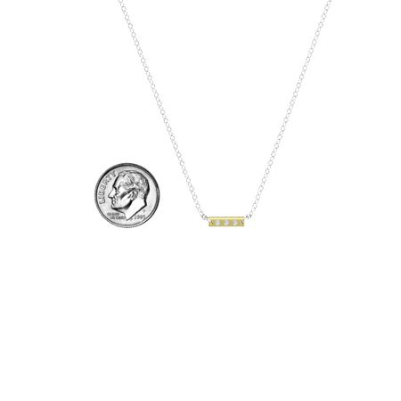 East-West Bar Necklace
