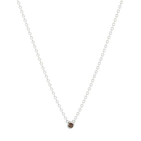 Round Necklace (3mm gem)