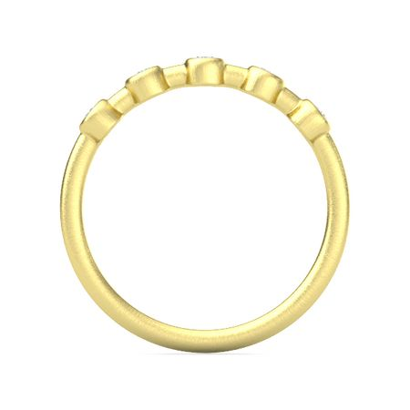 Five Stone Front Ring