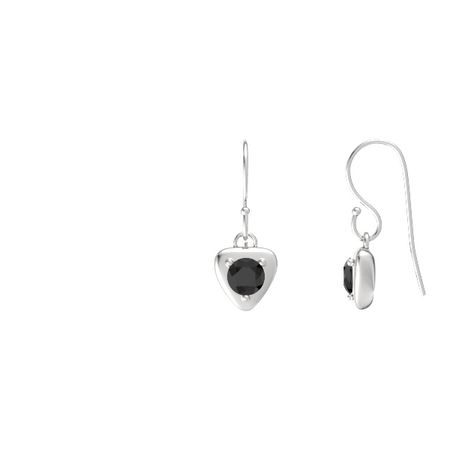 Eclipse Trillion Drop Earrings