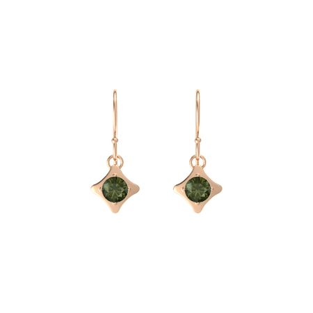 Eclipse Square Drop Earrings