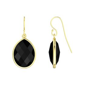 Bold Pear Drop Earrings