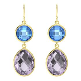 Bold Double Drop Earrings