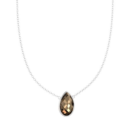 Bold Pear Necklace