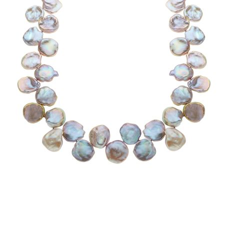 Pearl Petal Necklace