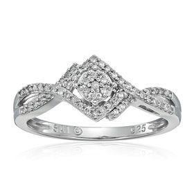 1/5 ct Diamond Engagement Ring