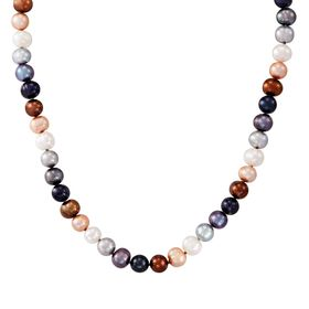 7-8 mm Lynx Potato Pearl Strand Necklace, 18""