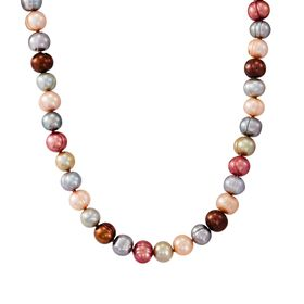 7-8 mm Gelato Potato Pearl Strand Necklace, 18""