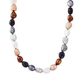 8-9 mm Lynx Rice Pearl Strand Necklace, 18""