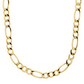 Men's Figaro Link Chain Necklace, 22""