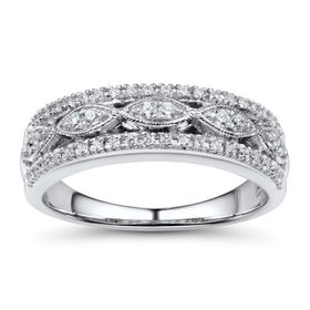 1/5 ct Diamond Anniversary Band Ring