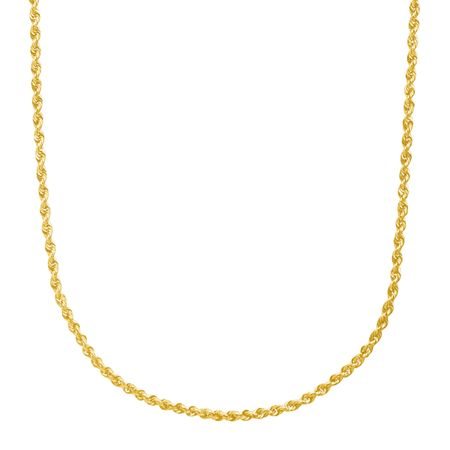 Hollow Glitter Rope Chain, 24