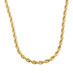 French Rope Chain Necklace, 20""