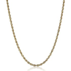 Glitter Chain Necklace, 24""