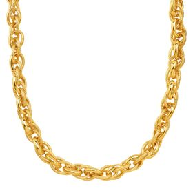 Mesh Chain Link Necklace