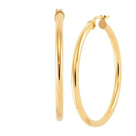 40 Mm Hoop Earrings