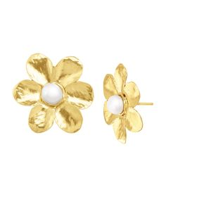 Plant On It Earrings, Yellow
