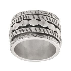 Raven Rock Spinner Ring