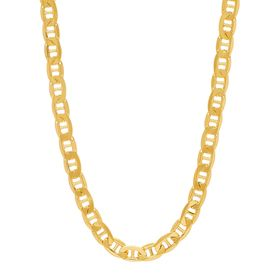 Men's Beveled Mariner Chain Necklace