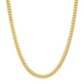 Men's Miami Curb Chain Necklace