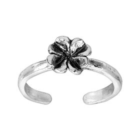 Simple Fleur Toe Ring