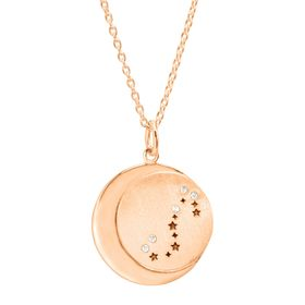 Scorpio Constellation Pendant, Rose